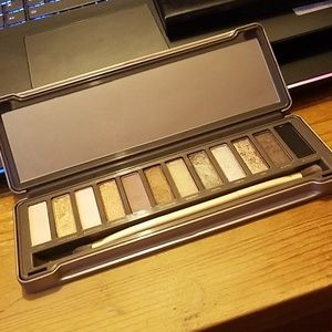 Slightly used Urban Decay Naked 2 palette.